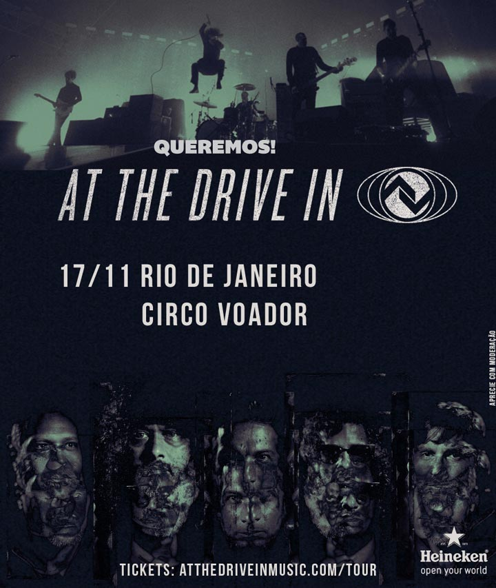At the Drive-In no Rio!
