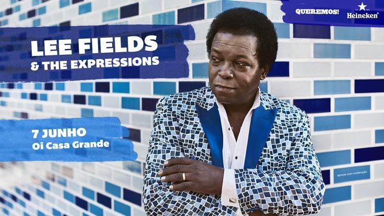 Lee Fields no Rio de Janeiro