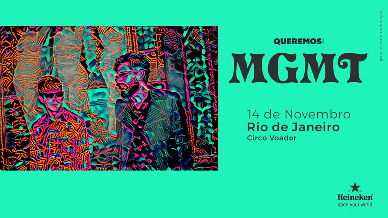 MGMT no Rio de Janeiro