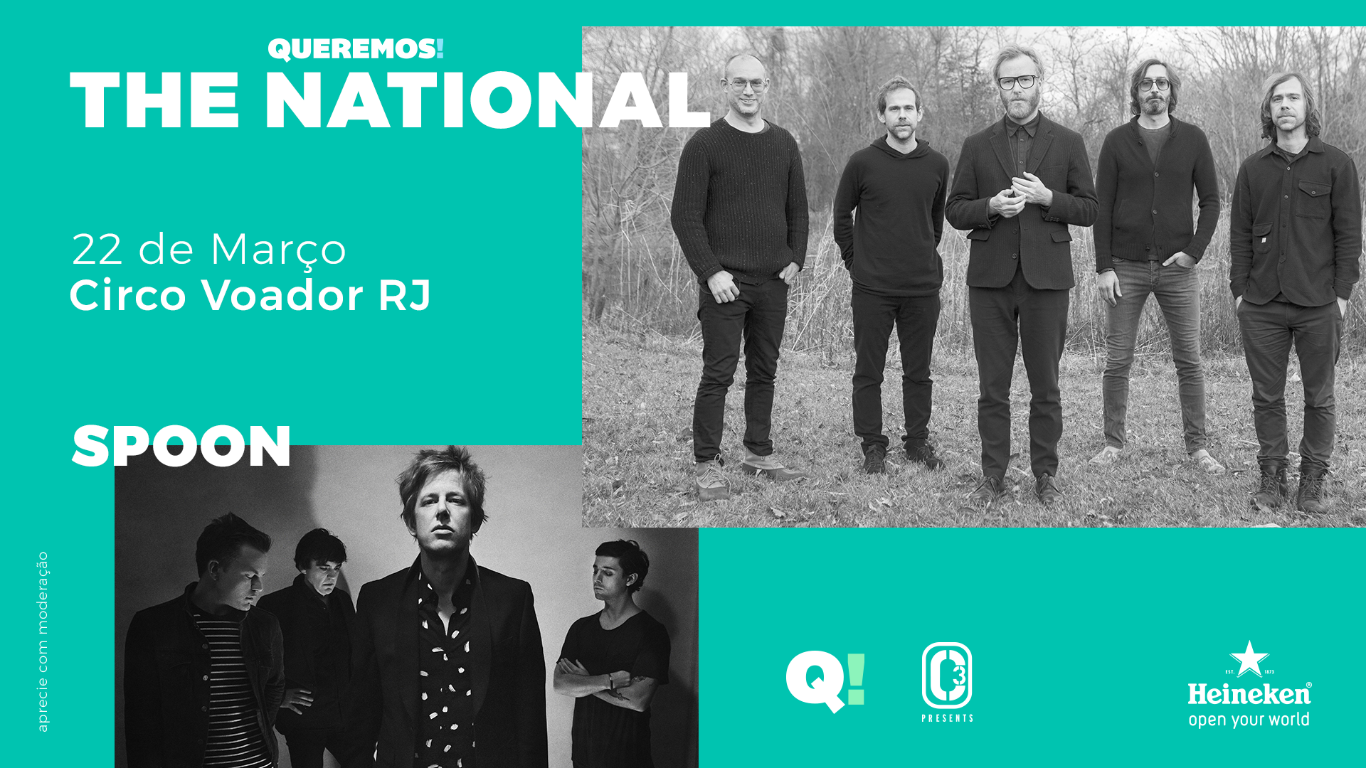 The National + Spoon
