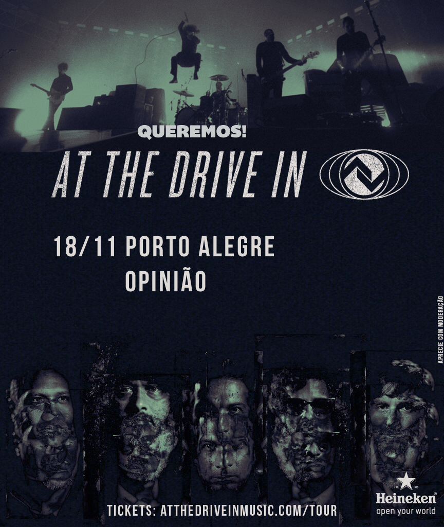 At the Drive-In em POA!