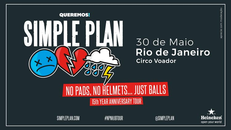 Simple Plan no Rio!